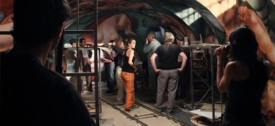 El mural cine felix monti adf director de for El mural pelicula argentina